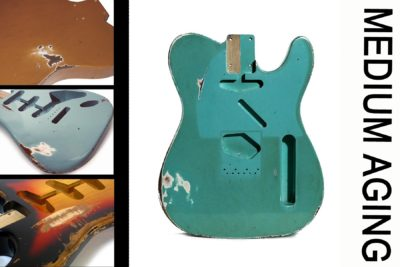 Custom Shop Relic aged Guitar bodies