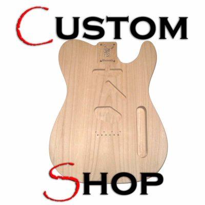 Custom Shop Telecaster body