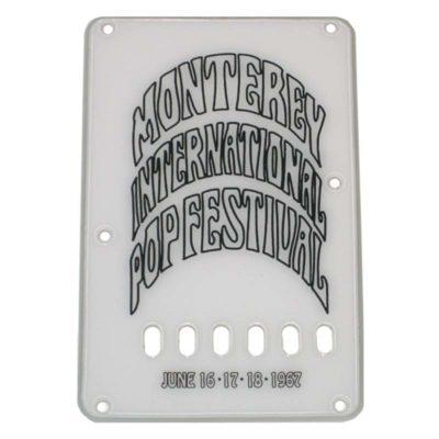 Hendrix Monterey Stratocaster tremolo cover