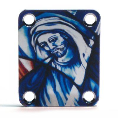 NP-110 Custom Shop color Jesus neckplate