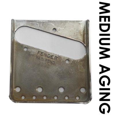 Relic Telecaster serial number bridge plate medium