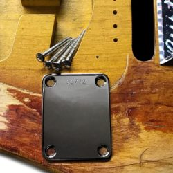 SRV Vaughan First Wife replica Stratocaster neckplate