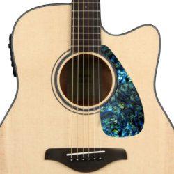 Faux Blue abalone Yamaha acoustic pickguard