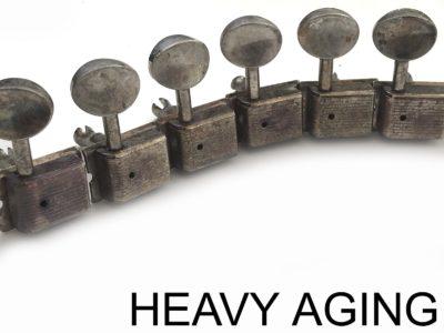 heavy aged kluson tuners