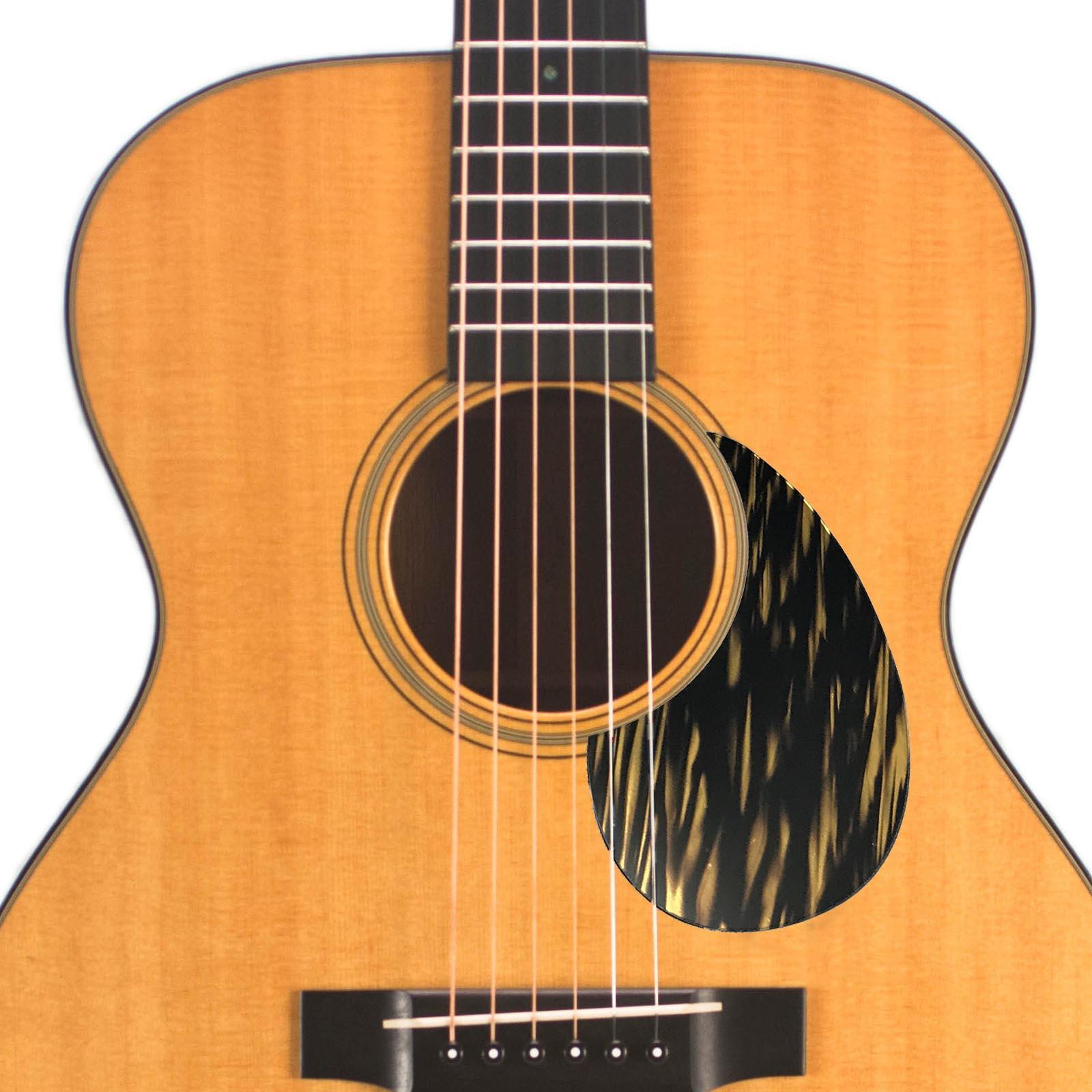 acoustic custom pickguard leopard 117. Black Bedroom Furniture Sets. Home Design Ideas