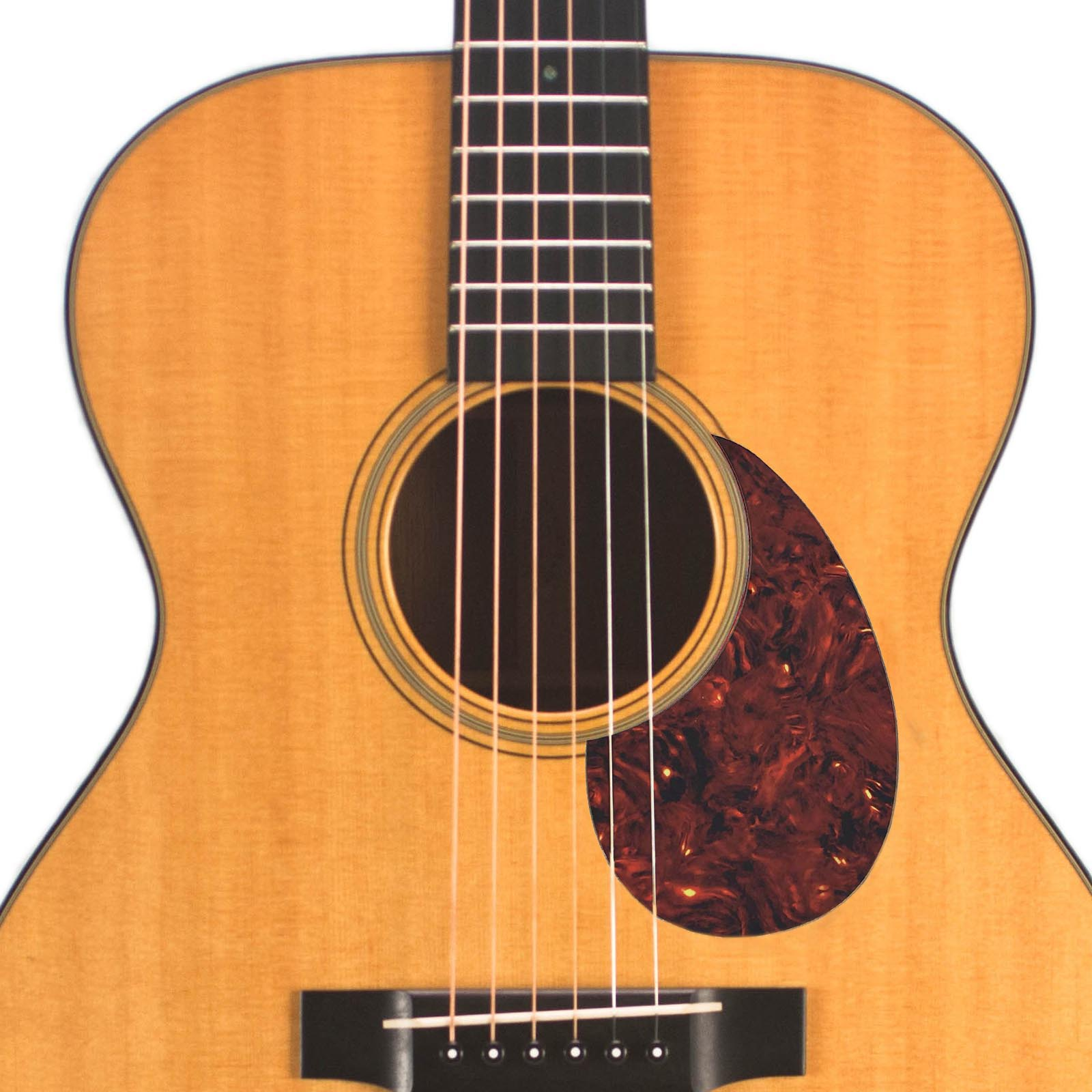 Acoustic Custom Pickguard - Leopard - 117