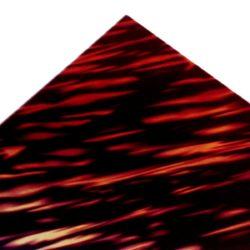 red firestripe guitar pickguard sheet