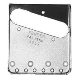9019 Telecaster Pat Pending Bridge plate copy