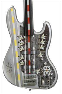 Doner Designs Aircraft Carrier Custom Bass Guitar