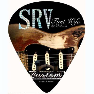 SRV Number One Stratocaster Strat guitar pick wall hanger 2