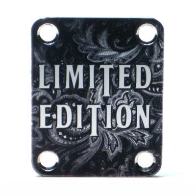 Limited Edition paisley custom Neckplate