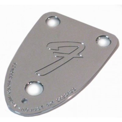 Fender 70s 3-bolt neckplate close