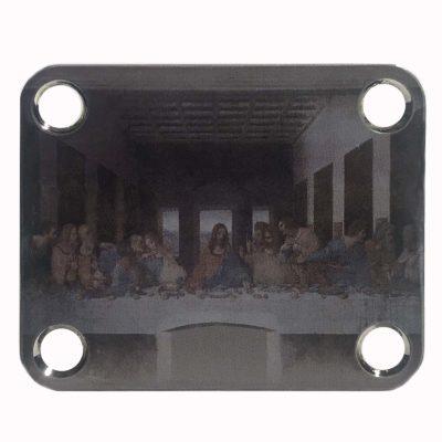 Last Supper Guitar Neckplate - Custom Da Vinci