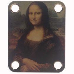 Mona Lisa Guitar Neckplate - Custom Da Vinci