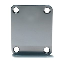 Polished stainless neckplate