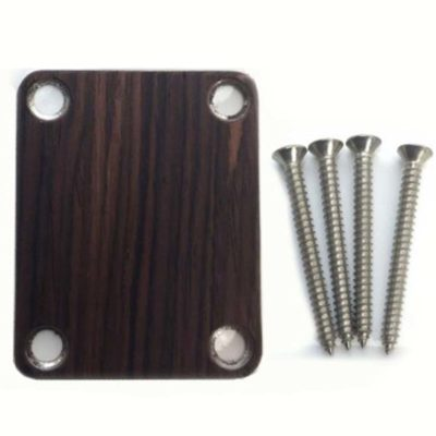 Rosewood Custom Shop Guitar neck plate