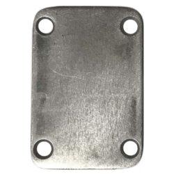 Steel Unplated Snakehead neckplate