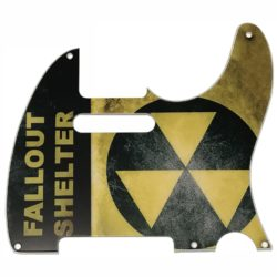 Telecaster custom fallout shelter pickguard