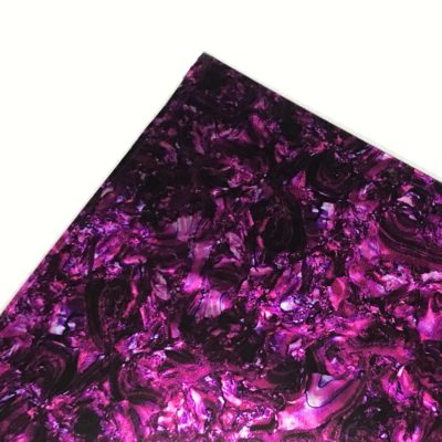 pink abalone acoustic sheet stock