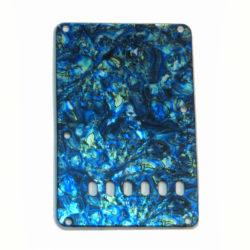 Blue abalone Stratocaster tremolo cover