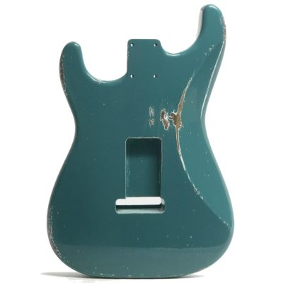Stratocaster Relic Sherwood Green Body back