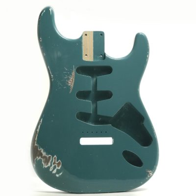 Stratocaster Relic Sherwood Green Body front