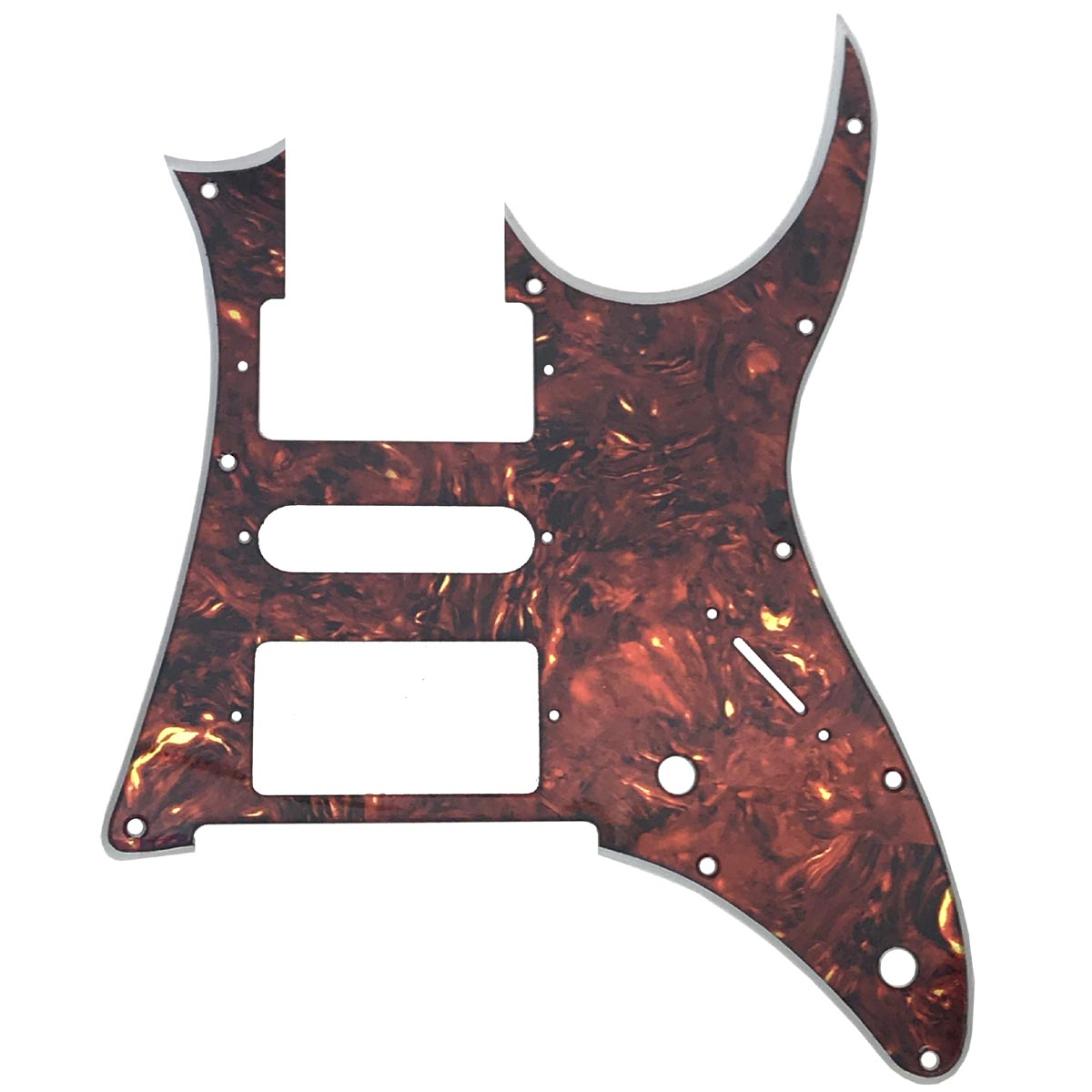 Ibanez RG 350 DX Pickguard - Iridescent Red Tortoise - 2-ply- CUSTOM ORDER