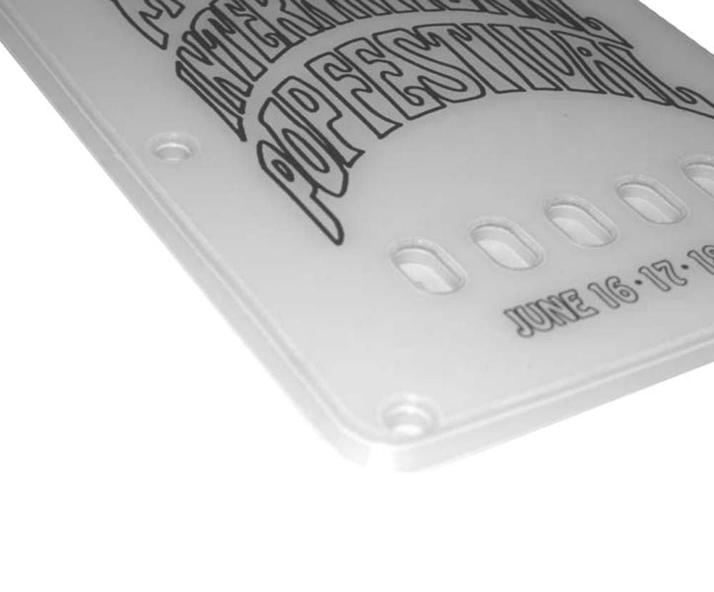 Monterey Stratocaster Backplate / Tremolo Cover -  2-ply