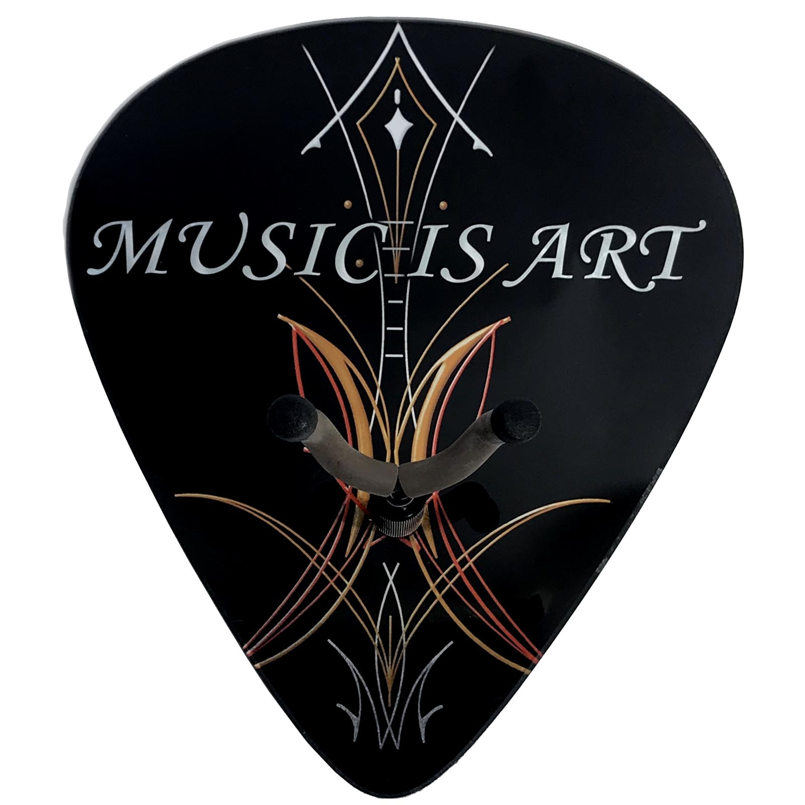 Axetreme Pick Guitar Wall Hanger™ - Includes String Swing Hanger -  Pinstripe Music is Art