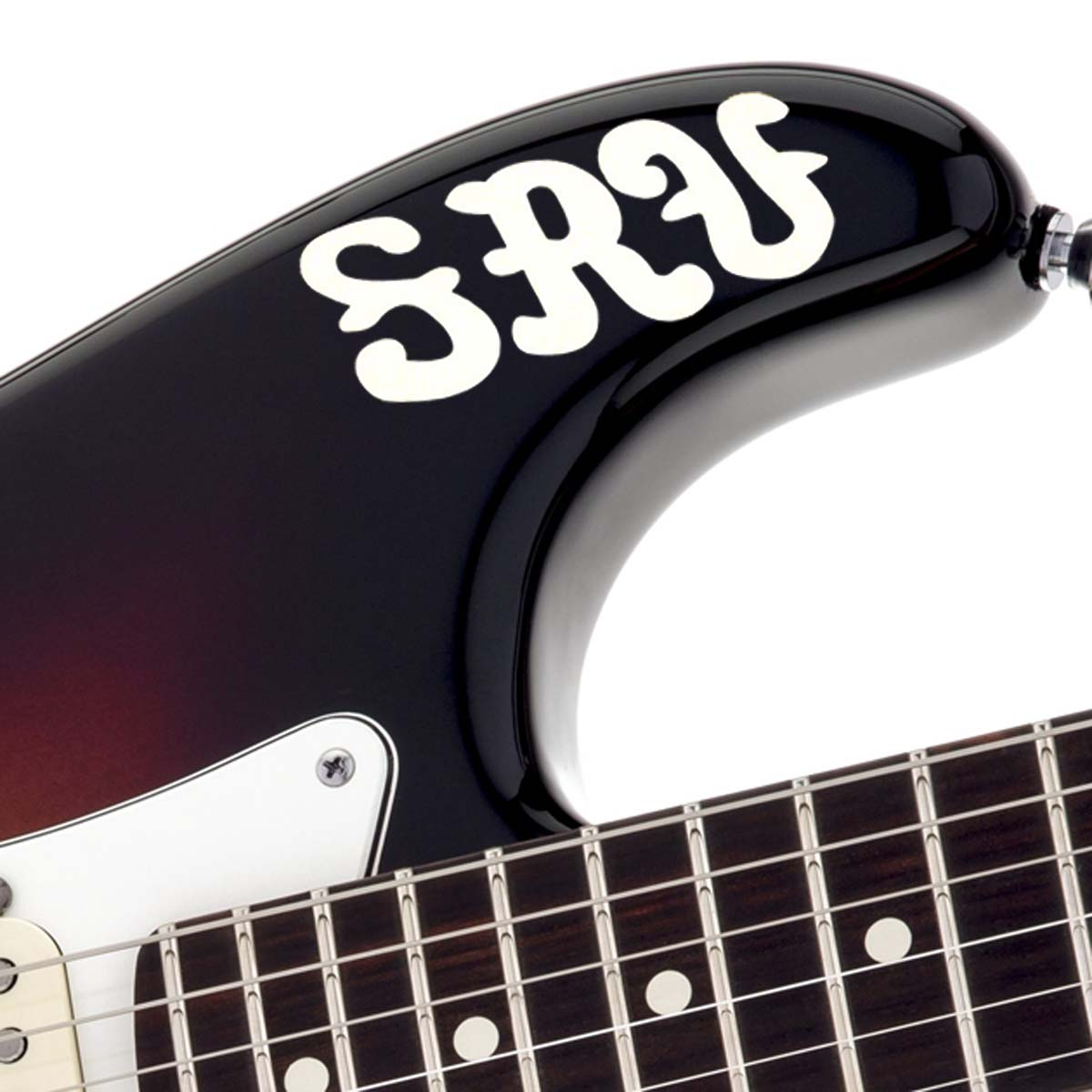 SRV Replica Stickers- First Wife  #1 Decal from Stratocaster Upper Bout