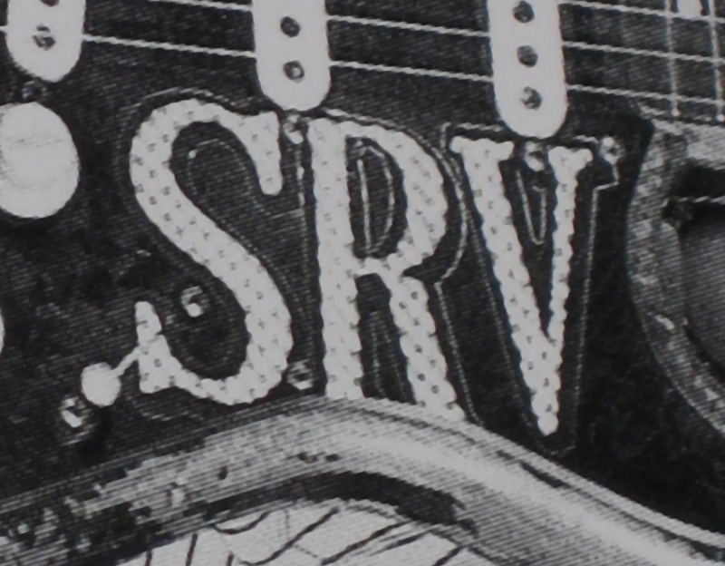 SRV Holographic & Black Border Replica Decals / Stickers