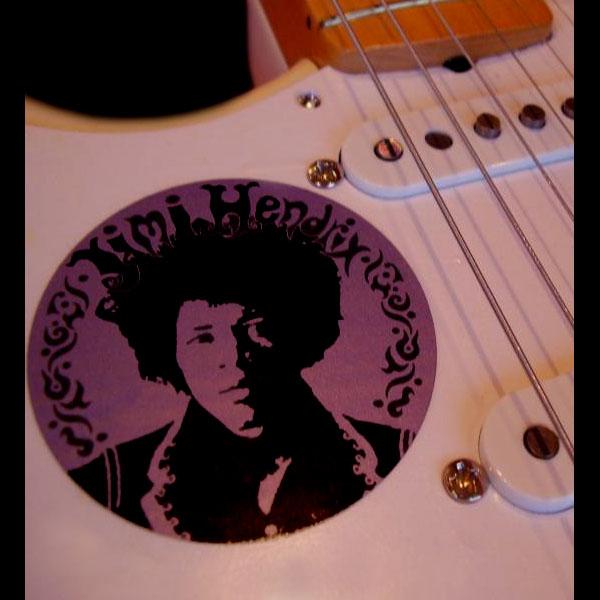 JH Tribute Fender Strat Decal / Sticker