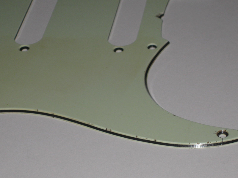 Relic Stratocaster Mint Green 3-ply  Pickguard - 10 BUSINESS DAYS