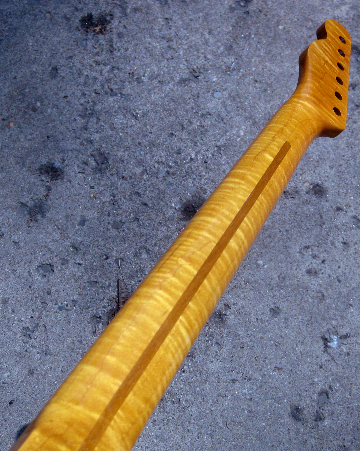 SOLD! Telecaster Replacement FLAME Maple Nitro Neck